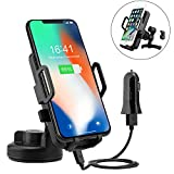 Best Wireless Charging Pad For Galaxy S6s - Wireless Car Charger, PTUNA Wireless Charging Car Mount Review