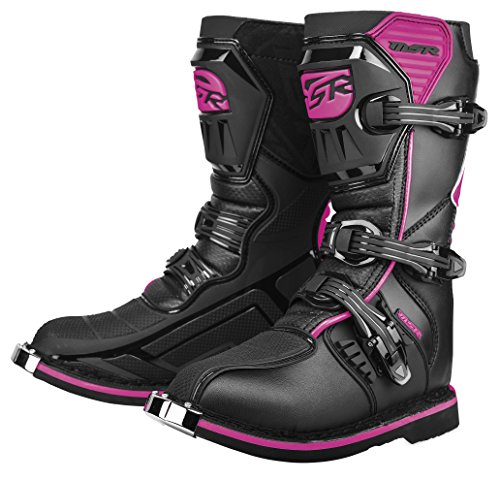 MSR Youth Girls VX-IIR Boots - 1 US Youth/Black/Pink