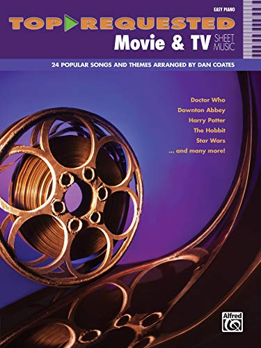 Top-Requested Movie & TV Sheet Music: Easy Piano (Top-Requested Sheet Music) ()