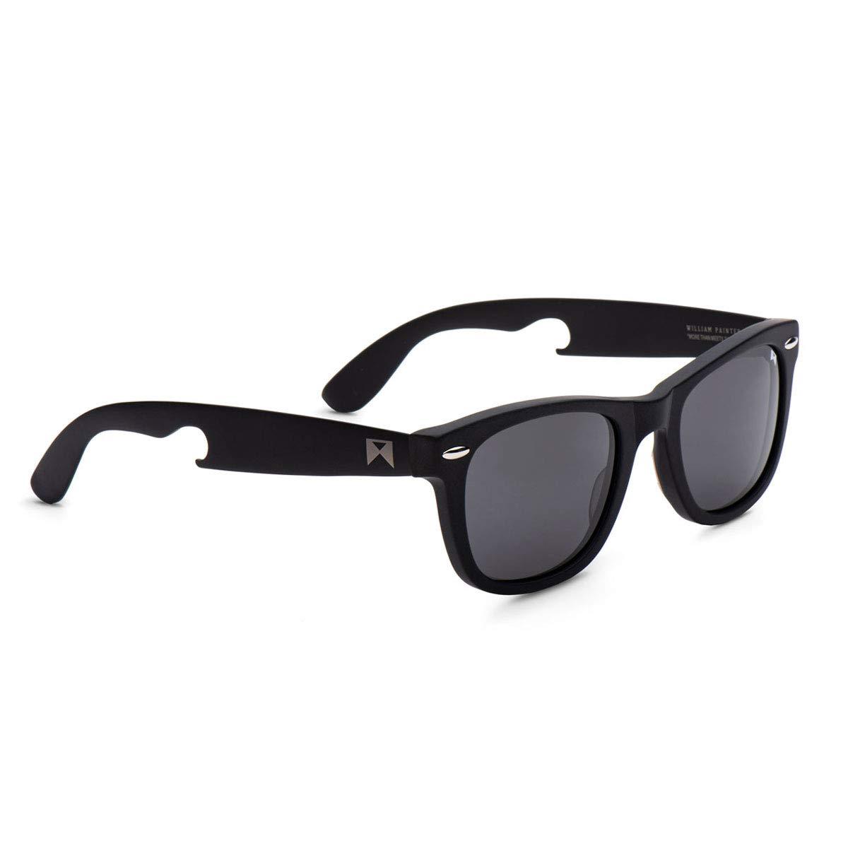 3a893d09bc Amazon.com  William Painter - The Hook Titanium Polarized  Classic   Sunglasses  Shoes