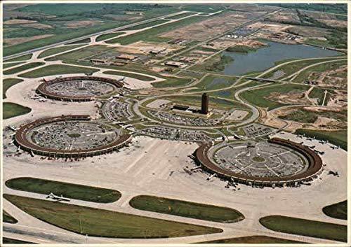Kansas City International Airport Kansas City, Missouri Original Vintage Postcard from CardCow Vintage Postcards