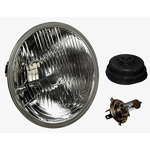 Euromeister 70214633 Mercedes Hella 7'' Round Single European Headlight
