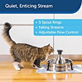 PetSafe Drinkwell Stainless 360 Multi-Pet Fountain