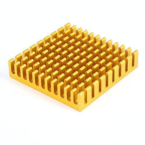 water-wood-aluminum-heat-sink-cooling-fin-cooler-45mmx45mmx10mm-copper-tone