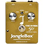 Janglebox The Byrds 50th Anniversary Gold Jangle Box Pedal w/ 4 Cables by JangleBox