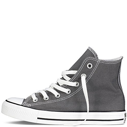 Chuck and in Classic Uppers Taylor Unisex Converse Color All Durable Sneakers Top Star and High Canvas Style Grey Casual C6q5qcTy