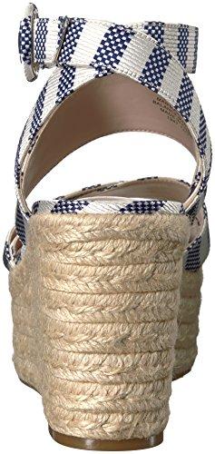Fabric Mujer Zapatos de NWKUSHALA2 para Multi off Blue tacón West Nine White Dark Navy wqCFIO