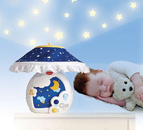 Amazon.com: Noche estrellada móvil Chupete Luz Nocturna: Baby