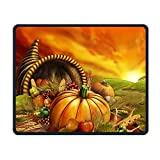 Yellow Pumpkin Smooth Nice Personality Design Mobile Gaming Mouse Pad Work Mouse Pad Office Pad