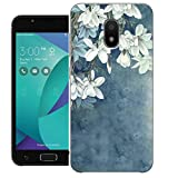 Asus ZenFone V Live Case, Starhemei Full-body protection TPU Soft Shell Ultra thin Flexibility Bumper Rubber Case Cover For Asus ZenFone V Live V500KL (Faint blue)