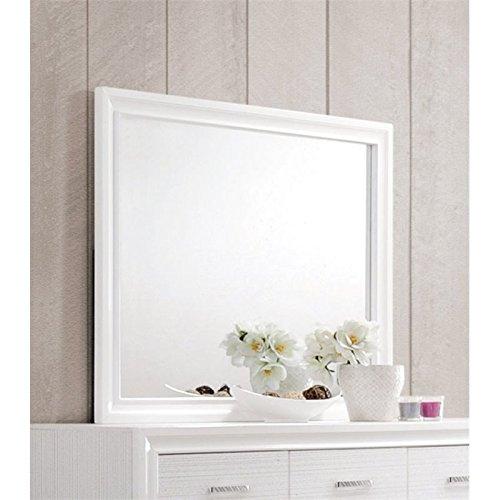 Coaster Home Furnishings Dresser Mirror, White