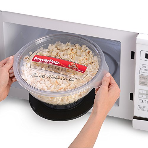 Amazon Presto 04830 Powerpop Microwave Multi Popper Black