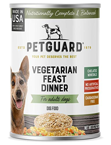 PetGuard Vegetarian Feast Dinner Wet Dog Food, 13.2-oz, case of 12