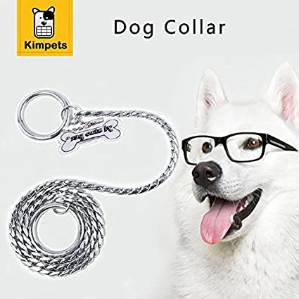 Buy Veena Silver 16 Metal Chain Pet Dog Leash Stainless