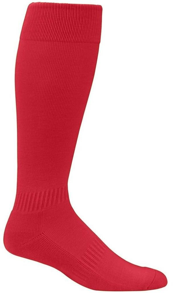 Augusta Sportswear Elite multi-sportソックス7 – 9 B00HLFLB8M Small|レッド レッド Small