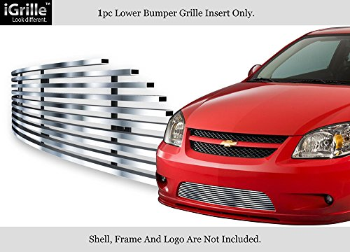(APS for 05-10 Chevy Cobalt SS/Sport Bumper Stainless Steel Billet Grille Insert #N19-C35756C)