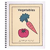 Childrens Braille Book - Vegetables