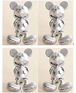 Great 4 Mickey Mouse Drawer Pulls   Zinc Alloy   Cabinet Knobs