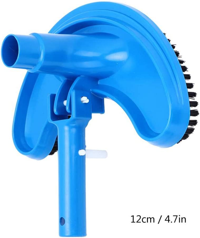 DAWEIF Swimming Pool Vacuum Suction Head Brush Cleaner Flexible Curved Cleaning Tool Pool Suction
