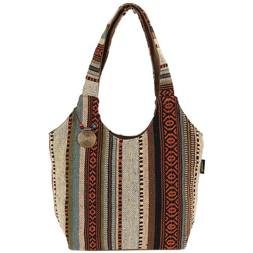 laurel-burch-catori-scoop-tote-16-inch-by-5-1-2-inch-by-11-inch-sandsation