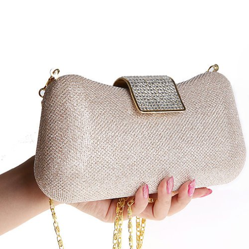 Belsen Bags Wedding Clutch Sequins Champagne Women's Evening Bgrq8Bw