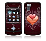 LG Shine (CU720) Decal Skin - Double Hearts