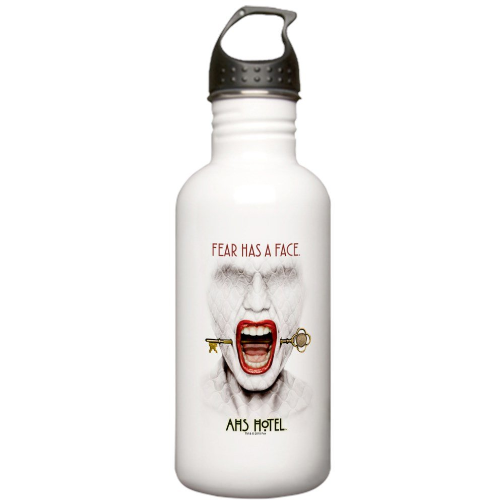 CafePress - AHS Hotel Fear Has A F Stainless Water Bottle 1 - Stainless Steel Water Bottle, 1.0L Sports Bottle