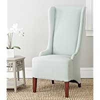 Safavieh Mercer Collection Becall Dining Chair, Seafoam Green