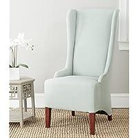 Safavieh Mercer Collection Becall Dining Chair, Seafoam Green