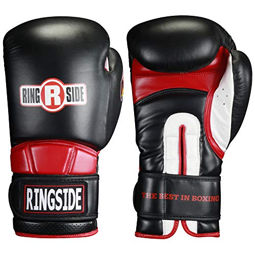 Ringside Safety Sparring Boxing Gloves, Black, 14-Ounce