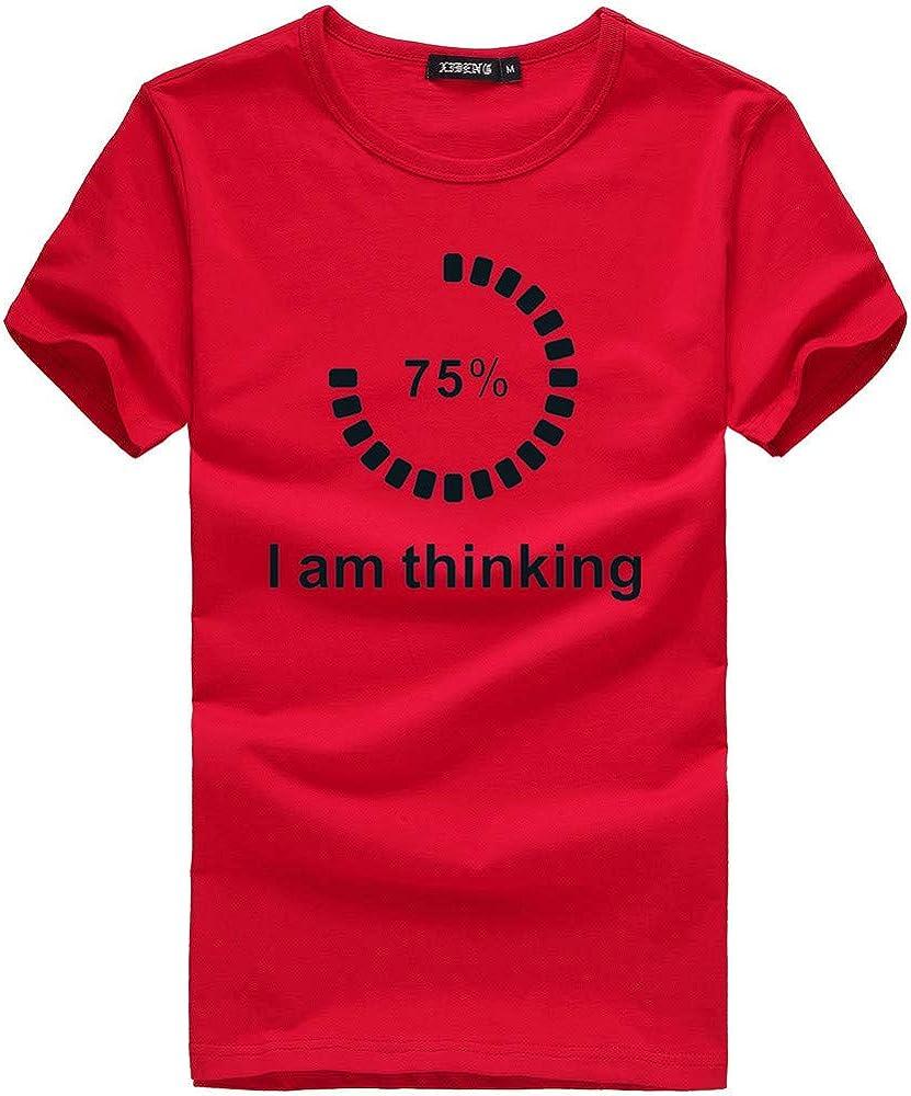 2019 Fashion Spring Men Printing Tees Shirt Think Outside The Box Short Sleeve T Shirt Blouse