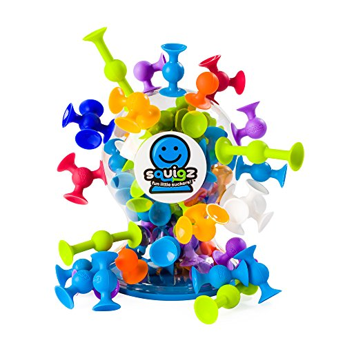 Fat Brain Toys Squigz Deluxe 50 Piece Set