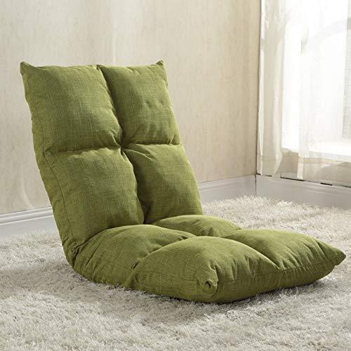 床の怠惰なソファーの床の椅子G賭博の椅子として使用のための背部サポートと B07SYNMKCH I
