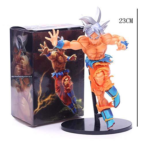 LYLLYL Spielzeug Statue Dragon Ball Spielzeug Statue Statue Spielzeug Exquisite Anime Dekoration Dekoration Saiyan Spielzeug Modell Frei Leicht Gong Wu Wu 23 cm Modellspielzeug ae2d81