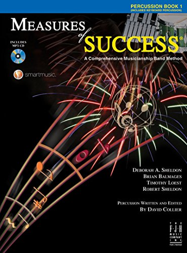 Which are the best measure of success book 1 percussion available in 2020?