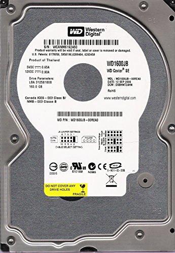 (WESTERN DIGITAL WD1600JB-00REA0 160GB WD CAVIAR SE HDD, 01JUN2006, DCM: DSCHCTJAH)