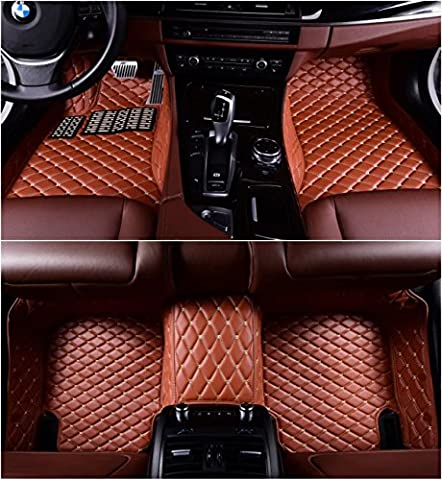Okutech Custom Fit XPE Leather 3D Full Surrounded Waterproof Car Floor Mats for Land Rover Range Rover Sport - Range Rover Foot