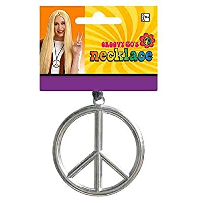 Peace Sign Necklace: Toys & Games