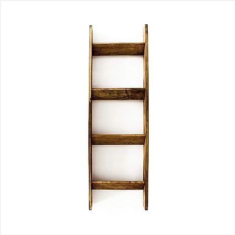 Amazon.com: Manta de madera de pino rizado escalera, Pino ...