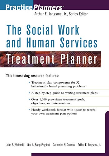 The Social Work and Human Services Treatment Planner (Treatment Work Planner Social)