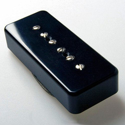 (Tonerider Hot 90 Soapbar P90 Bridge pickup - black)