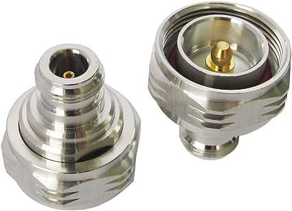 DIN 7//16 L29 Male Plug Type to Din L29 7//16 Female Jack RF Coaxial Adapter F//M