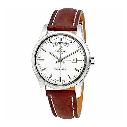 Breitling Transocean Day-Date Automatic Mens Watch (Breitling Date Wrist Watch)