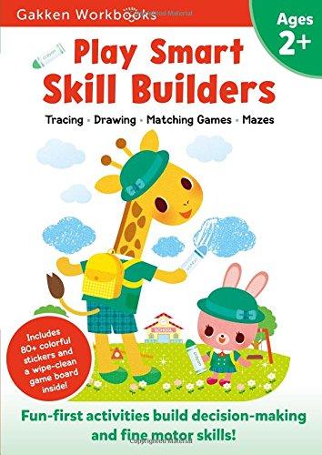 Play Smart Skill Builders 2+: For Ages 2+ (Gakken Workbooks)