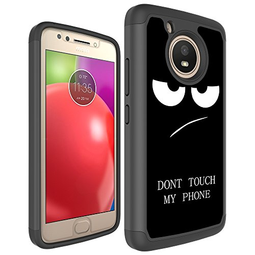 Moto E4 Case, Skmy Shockproof Impact Hybrid Dual Layer Defender Protective Cover rugged Armor Case for Motorola Moto E 4th Generation (My Phone) Photo #6