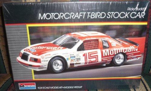 calidad auténtica Monogram  2723 Ricky Rudd's Motorcraft Motorcraft Motorcraft T-Bird Stock Coche 1 24 Plastic Model Kit by Monogram  minorista de fitness