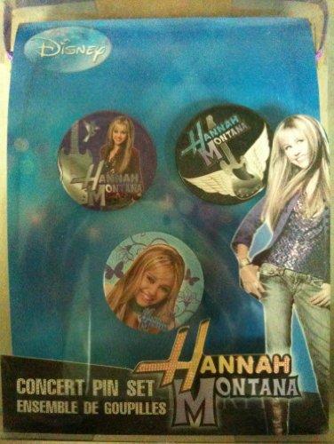 Disney Hannah Montana Concert Pin Set