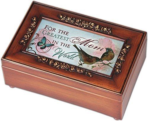 入園入学祝い Greatest Mom Cottage Garden Rose Brushed Gold Jewelry Rose Trim Light Petite Jewelry Music Musical Box Plays Song You Light Up My Life [並行輸入品] B01K1W4F2A, 照明ペンダントライトのm&S:e13195de --- arcego.dominiotemporario.com