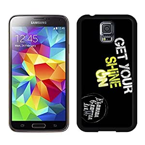 New Unique DIY Antiskid Skin Case For Samsung S5 get your shine on florida georgia line Samsung Galaxy S5 Black Phone Case 172