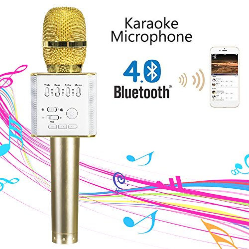 Learn More About Mifanstech Q9 Mini Wireless Microphone Portable Handheld Cellphone Karaoke Player U...